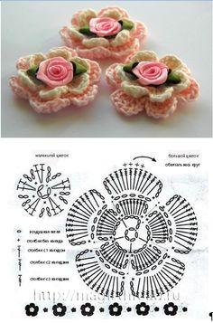 návod na květ čelenky http://www.passionforum.ru/posts/24679-povjazki-dlja-malyshek.html