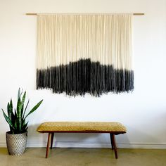 Large Tapestry, all black