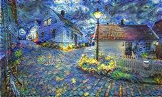 Google's Deep Dream manipulates photographic works using artificial intelligence. Has it created a new tool for fine artists that will change the course of art history? #deepdream #fineart #artlawyer by aestheticlegal