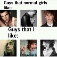 Any one else notice that the guy in the middle bottom is Chris Drew from Never Shout Never? But yeah, I'll take those bottom boys any day :P