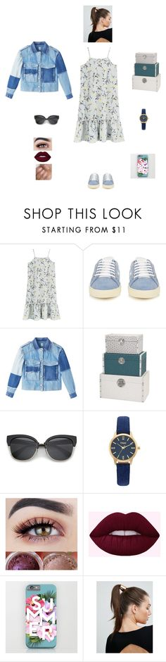 """K B M F D 1 Y"" by queen-kaitlyn ❤ liked on Polyvore featuring Yves Saint Laurent, Vivani and Johnny Loves Rosie"