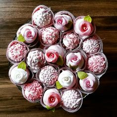 #cupcake #homemade #rose #pink #romantic #engament