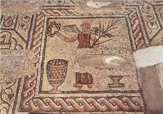 Basilica di Santa Maria Assunta (Aquileia). Mosaico della Vittoria eucaristica.