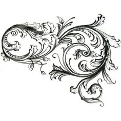 Filigree Tribal Tattoos ❤ liked on Polyvore featuring accessories, body art and tattoo