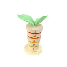Wooden Stacking Carrot by Masterkidz