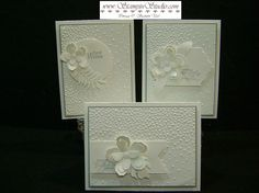 Stampin' Sisters Retreat - white on white, Botanical Builders framelits Creative Birthday Cards, Sympathy Cards, Embossing Folder, Greeting Cards Handmade, Stampin Up Cards, Scrapbook Pages, Wedding Anniversary, Wedding Cards, Card Making