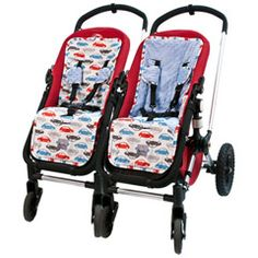 Itzy Ritzy Reversible Stroller Liner Rodeo Drive