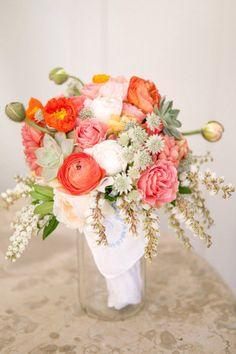 solo con flores queda muy bonito.