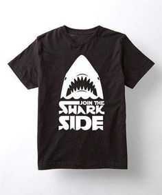 Shark side shirt!