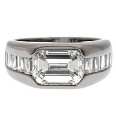 Wedding rings Nobel Platinum Diamond Engagement Rings For Men For Platinum Diamond Rings, Platinum Jewelry, Diamond Jewelry, Jewelry Rings, Body Jewelry, Emerald Shoes, Emerald Rings, Ruby Rings, Emerald Cut