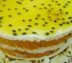 Bolo Gelado com Creme de Maracujá - http://www.receitasja.com/bolo-gelado-com-creme-de-maracuja/