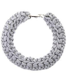 Kapow Wow! Crochet Rope Collar