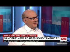 """Art Garfunkel on Sanders ad using """"America"""" - YouTube and here's the video https://youtu.be/2nwRiuh1Cug"""