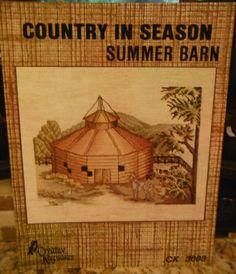 SUMMER BARN Cross Stitch Leaflet CK 3003 by CraftyCrossStitches, $8.00