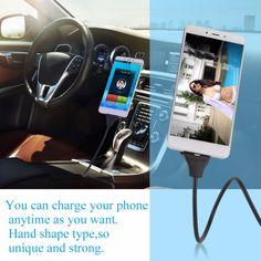 Flexible Metal USB Fast Charging Phone Holder #flexiblemetalusbchargingphoneholder #Bigstartrading