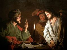 painting caiaphas   Christ before Caiaphas