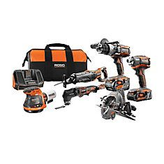 Get all the tools you need for the job with this durable RIDGID Cordless Six Piece Combo Kit with Battery, Charger and Bag. Cordless Power Tools, Cordless Drill, Hand Circular Saw, Reciprocating Saw, Hammer Drill, Electronic Recycling, Recycling Programs, Impact Wrench, Impact Driver
