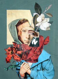 stremplerART — Handmade Collage W. Strempler, 2017