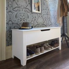 Perpignan Hallway Shoe Storage Bench