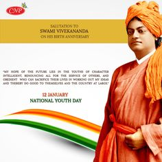 """Today is """" National Youth Day """" (Yuva Divas) celebrated to commemorate the birth anniversary of Swami Vivekananda. A Very Happy National Youth Day . Swami Vivekananda Wallpapers, Swami Vivekananda Quotes, Herbal Hair Colour, Organic Hair Color, Hair Color Brands, Youth Day, Today Is National, Inspirational Quotes About Success, Republic Day"""