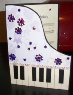 This Is An Awesome Card For My Piano Teacher At Garrison Musical CardsDad BirthdayBirthday