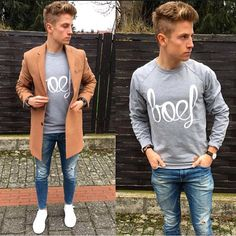 """""""S t y l e @topmenshair"""" Casual Work Outfits, Work Casual, Casual Shirts, Men Casual, Teen Fashion, Teen Style, Men's Style, Long Sleeve Shirts, Street Wear"""
