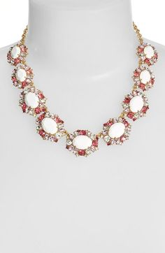 kate spade new york 'garden bed gems' collar necklace available at #Nordstrom