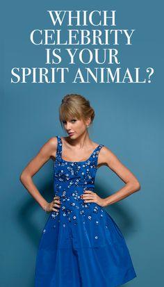 QUIZ - Which Celebrity Is Your 'Spirit Animal'?