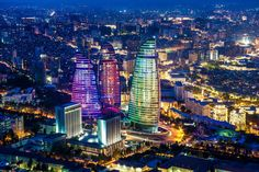 Flame Towers - Azerbaijan