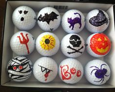 Painted golf balls (Not this theme though....)