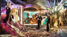 David LaChapelle Shoots Kardashian Christmas Card: PHOTOS | NewNowNext