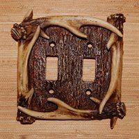 Male deer shed their antlers every year and later grow new ones. You can find antler sheds in winter and early spring if you know where to look. Deer Antler Crafts, Deer Antlers, Switch Plate Covers, Light Switch Plates, Male Deer, Rustic Nursery, Lowes Home Improvements, Cool Tools, You Are The Father