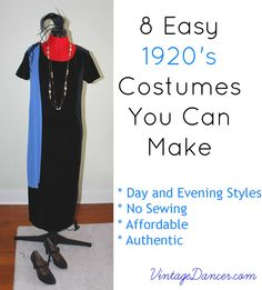8 Easy 1920s Downton Abbey Inspired Costumes You Can Make - #DIY #Costumes #Downtonabbey