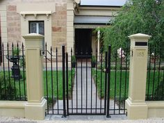 Front Gates Inspiration - Hindmarsh Fencing & Wrought Iron Security Doors - Australia | hipages.com.au