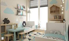 apartament bemowo ok.100m2 - Pokój dziecka, styl skandynawski - zdjęcie od Grafika i Projekt architektura wnętrz