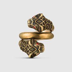 Gucci - Tiger Head Ring
