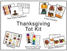 Thanksgiving toddler kit