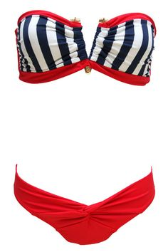 THE LOST PLAYAS V BANDEAU 'KINI -'MERICA!