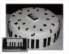 Piano, Muziek & Taart
