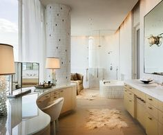 Omg, is this not an amazing bathroom?? If only I had a million dollars.