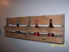 Rustic-Like Wine Rack - Pallet