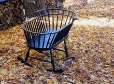 Comb Back Windsor Baby Cradle Traditional by SurrenderDorothy, $1389.00