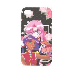 Utena x Anthy Hard Case for iPhone 4/4s