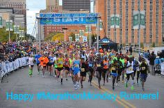 HAPPY MARATHON MONDAY TO ALL RUNNERS! Don't forget to register for the IMT Des Moines Marathon before the fee increase on April 21st! Take advantage of the GREAT deal at https://secure.getmeregistered.com/get_information.php?event_id=9453