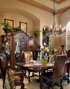 Ibis Golf & Country Club - contemporary - dining room - other metros - Dreamstar Custom Homes Dining Room Hutch, Dining Room Design, Dining Rooms, Golf Room, British Colonial Style, Home Buying, Custom Homes, Room Inspiration, Home Remodeling