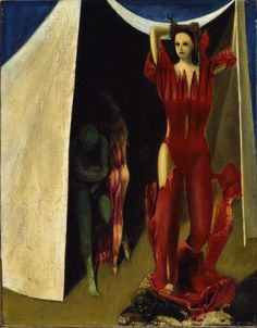 denisforkas:    Max Ernst - Daughters Of Lot. 1941