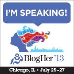 Guess who is talking about social media leadership at the BlogHer Conference in July? Yours truly. Read blog for more details.   If you are headed to BlogHer in Chicago, let me know so we can connect.