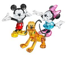 Swarovski Mickey Mouse, Minne Mouse and Pluto 2012