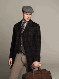 ad27a04629387 Hackett  hats  menstyle Tweed Waistcoat