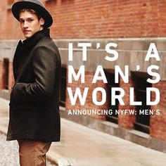 It's official - NYFW: Men's is a go, and East Dane is along for the ride. #NYFWM by East Dane